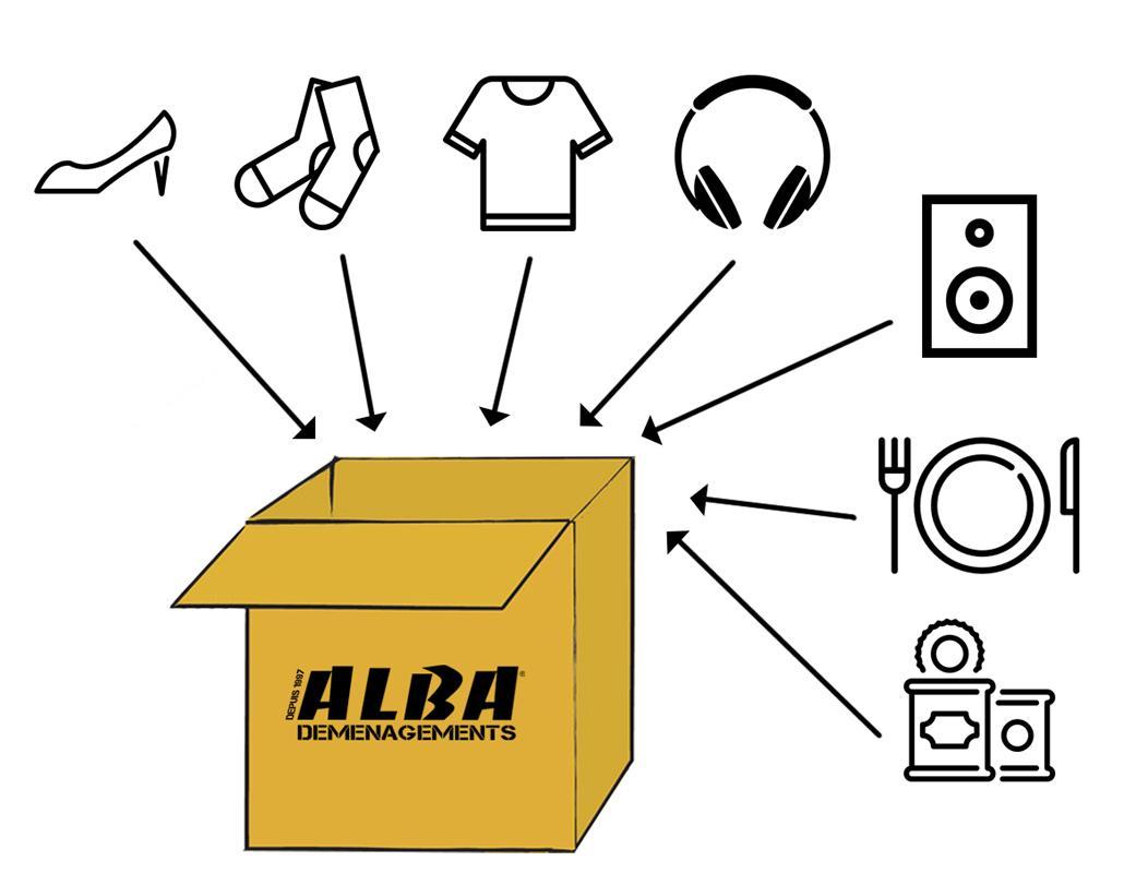 Colis Alba Box - Expedition de colis vers l'outre mer (DOM-TOM)