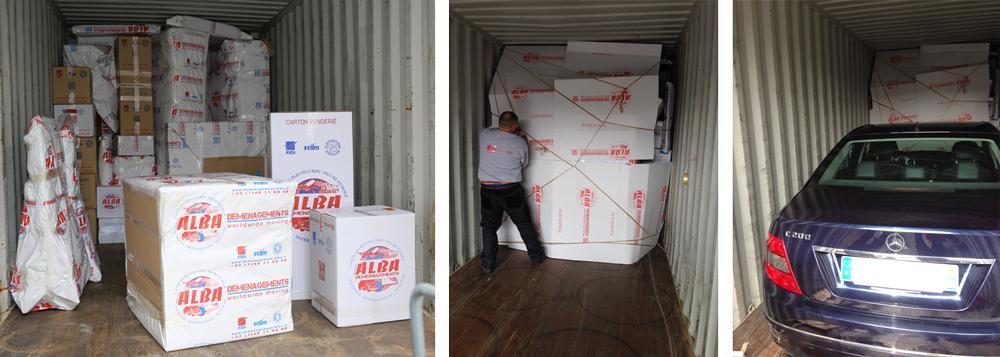 Chargement d'un conteneur - Description d'un Container