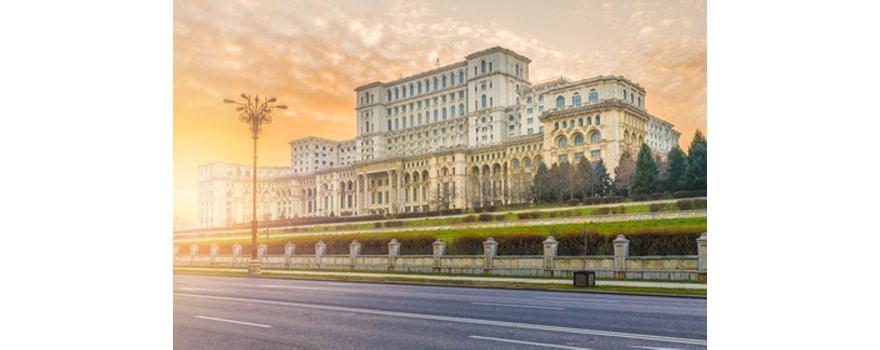 S'installer à Bucarest en Roumanie - Vue du Palais