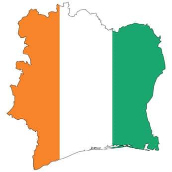 Drapeau de la Cote D'Ivoire - Vivre en Cote D'ivoire avec Alba Déménagements