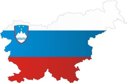 Déménagement en Slovénie avec Alba - Drapeau Slovène