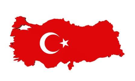 Drapeau de la Turquie - Déménager en Turquie sereinement
