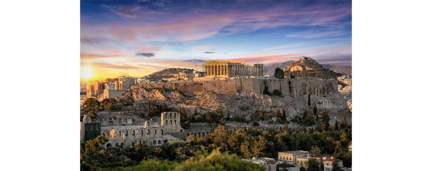 Déménager à Athènes. Site archéologique Acropole d'Athènes