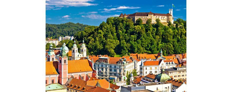 Déménagement à Ljubljana. Capitale de la Slovénie