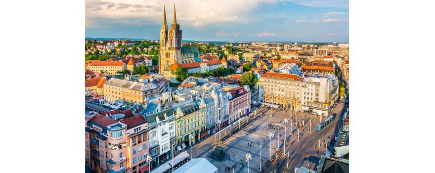 Déménagement à Zagreb capitale de la Croatie avec Alba Déménagement