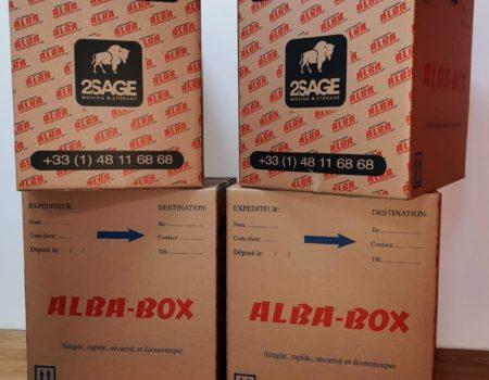 Alba Box - expedition de colis vers la martinique et guadeloupe